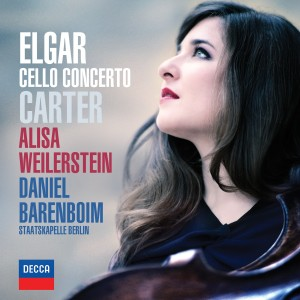 PACKSHOT Alisa Weilerstein - ELGAR & CARTER Cello Concertos