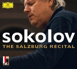 COVER Gregory Sokolov - The Salzburg Recital